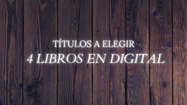 4 libros en digital