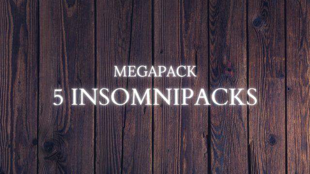 Megapack 5 Insomnipacks