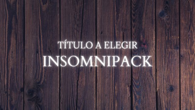 Recompensa 10: Insomnipack