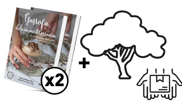 Visita Planta un garrofer + 1 llibre