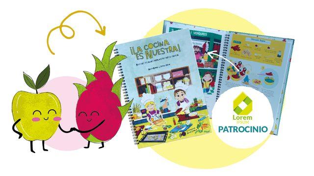 PATROCINIO del libro ¡La cocina es nuestra!