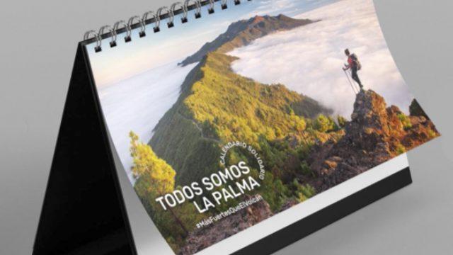 """Calendario """"todos somos la Palma"""" Peninsula"""