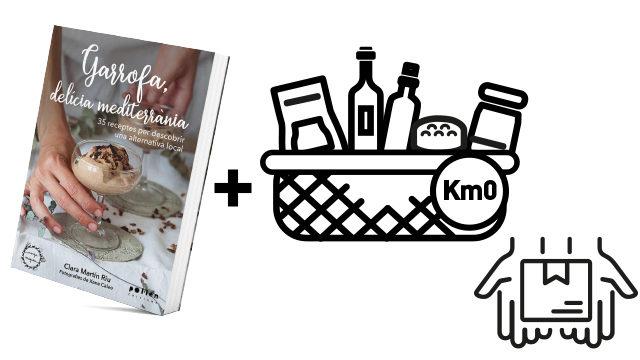 Llibre + lot 6 productes locals