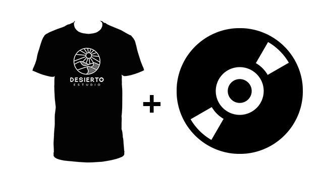 Camiseta + Nuevo disco ''REFUGIO''