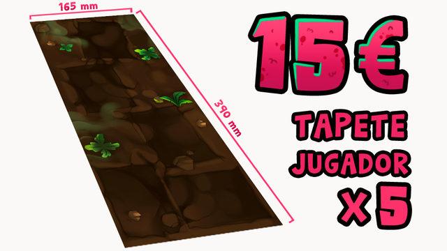 TAPETES DE JUGADOR