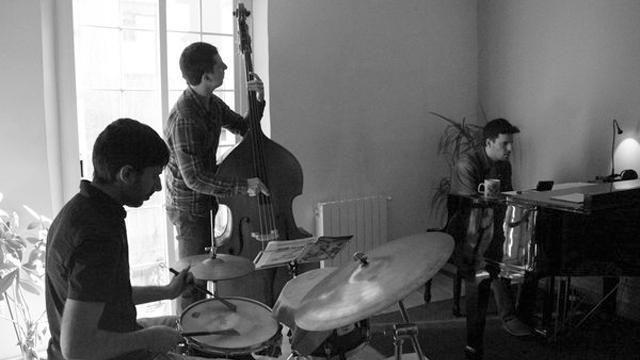 """TF trio, """"Lluç jazz"""". Gravació del disc"""