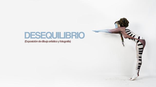 """Back this Crowdfunding """"DESEQUILIBRIO (Exposición de dibujo artístico y fotografía)"""" in Verkami"""