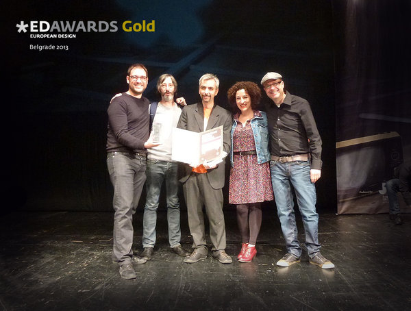 ¡Cárnicas Gráficas Gold Award en los European Design Awards 2013!