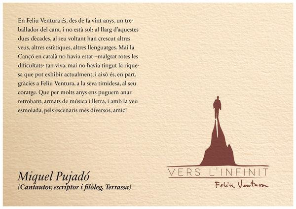 Text complet de Miquel Pujado per a #verslinfinit