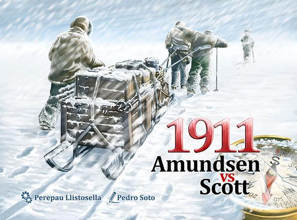 Portada de 1911 Amundsen vs Scott