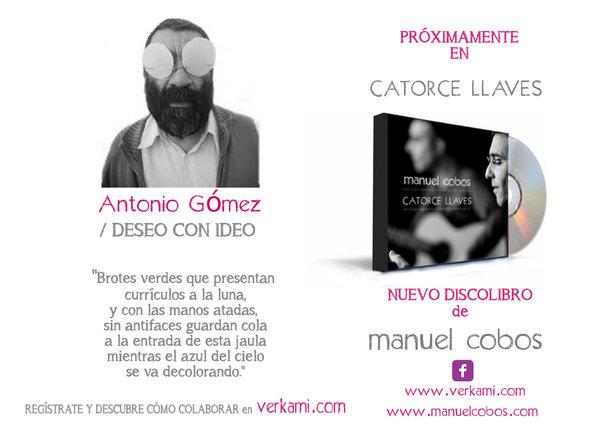 ANTONIO GÓMEZ, o la poesía del compromiso!!!