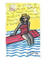 Sabina dibuja para Epitafios