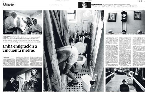 The Fraga Family published in El Progreso newspaper-Spàin