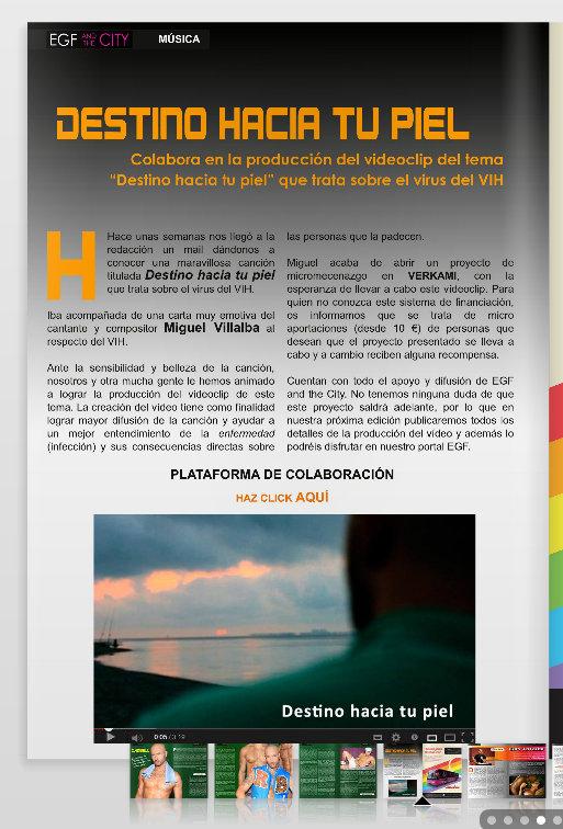 EGF AND THE CITY HABLA DE NUESTRO PROYECTO EN SU NUEVA EDICIÓN.