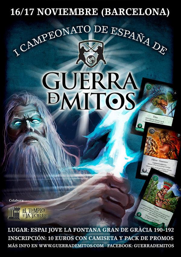 I Campeonao de España de Guerra De Mitos (Preinscripción Abierta)