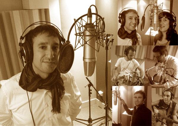 El cangués Nelson Quinteiro termina la grabación de su primer disco