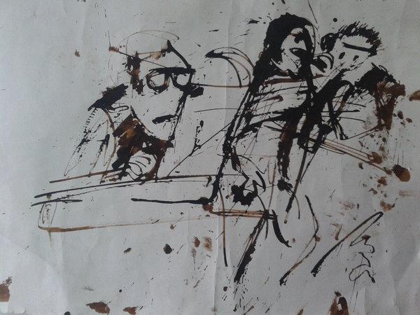 Portada del disco: uniendo la pintura y la música