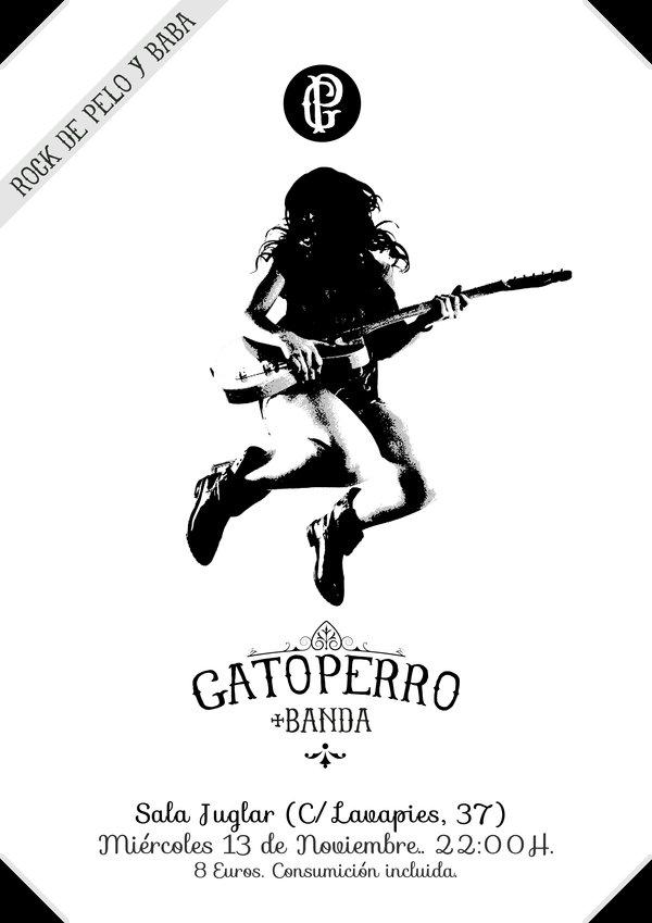 GATOPERRO + BANDA. Miércoles 13 de Noviembre (Madrid).