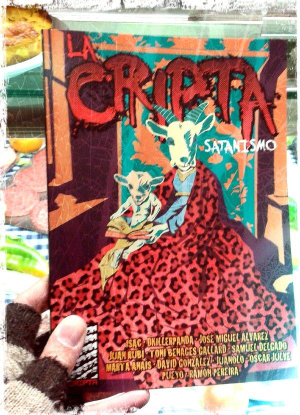 Algunas pruebas de que La Cripta: Satanismo ya ha salido de imprenta!!!