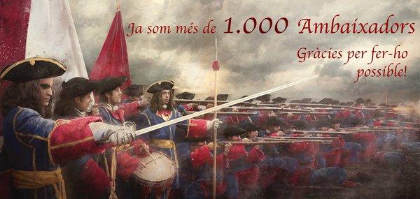 Ja som 1.000 ambaixadors!!
