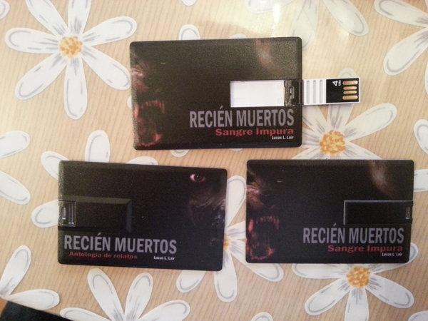 ¡Ya tenemos las tarjetas USB! Cada vez queda menos.