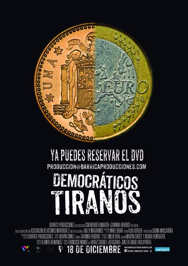 Reserva de DVD's Democráticos Tiranos