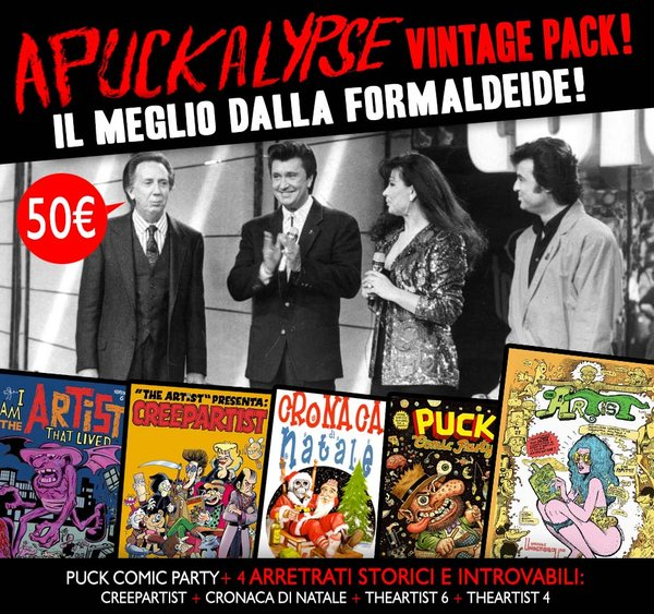 APUCKALYPSE VINTAGE BOX - All previous issues! Il meglio dalla formaldeide!