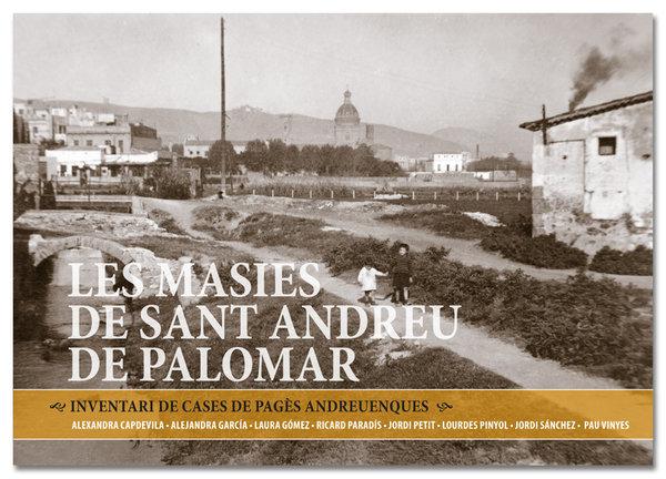 """PRIMÍCIA: COBERTA DEL LLIBRE """"LES MASIES DE SANT ANDREU DE PALOMAR"""""""