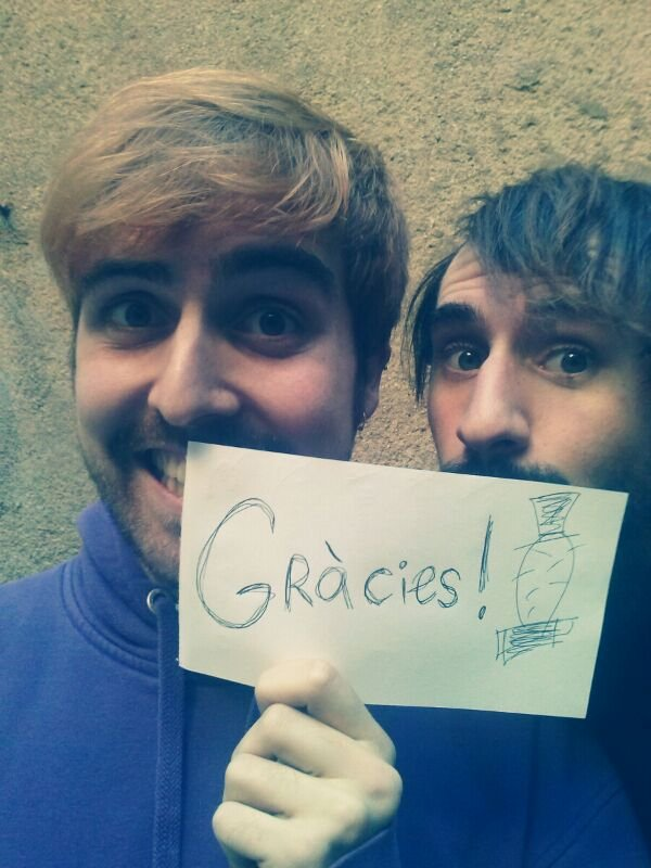 GRÀCIES! GRACIAS! THANK YOU!! :D