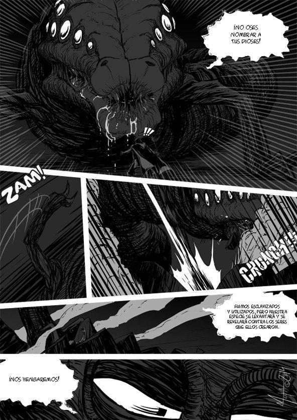 Día 42: página 6 del cómic de agradecimiento a los Mecenas
