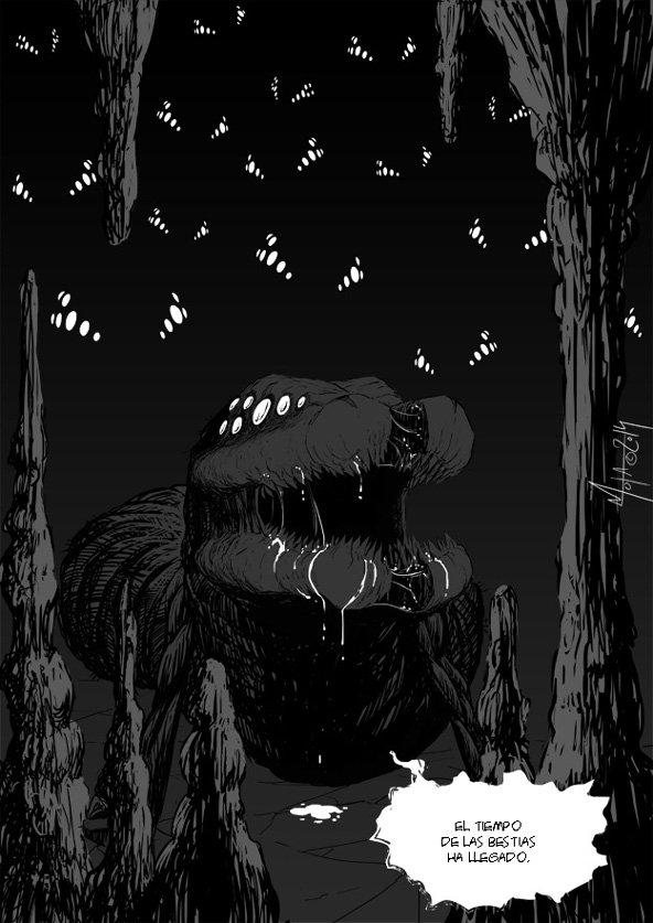 Día 42: página 7 y final del cómic de agradecimiento a los Mecenas