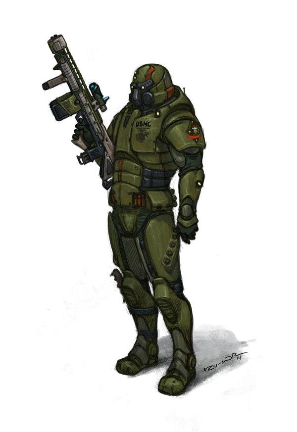Recon Marine — Walküre, el juego de rol