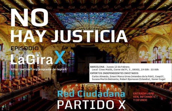 [Barcelona] Recordatorio: Cambio de lugar del evento