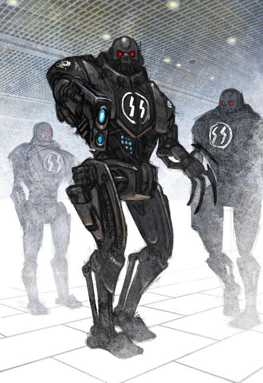 Robot De Combate Ss Walküre El Juego De Rol