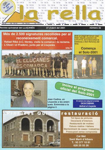 Imatge històrica a la portada de la 26