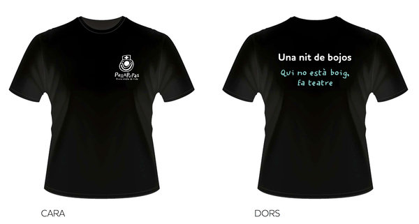 Ja tenim el disseny de la samarreta, vols una? Col·labora en aquest Verkami.