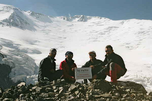 L'any 2006, amb l'expedició al Pic Lenin