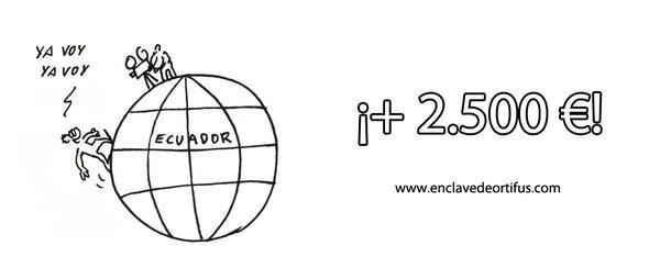 ¡Cruzamos el Ecuador con más de 50 mecenas! / Creuem l'Equador amb més de 50 mecenes!