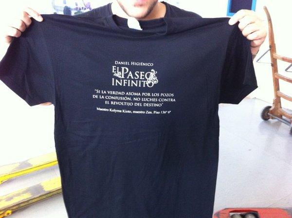 La camiseta!