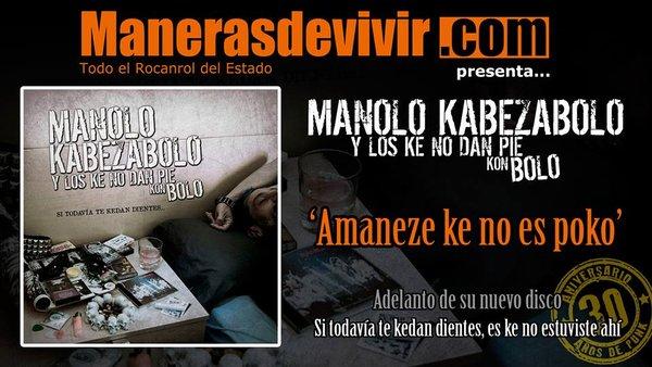 Adelanto del nuevo disco: Amaneze Ke No Es Poko