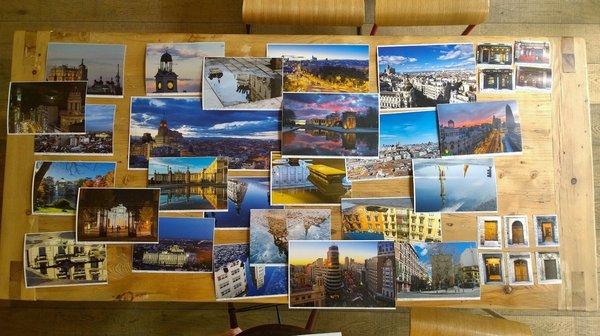 Selección de fotos terminada