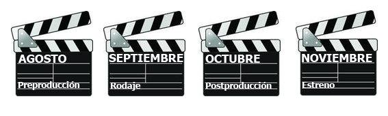 Calendario producción Víctimas