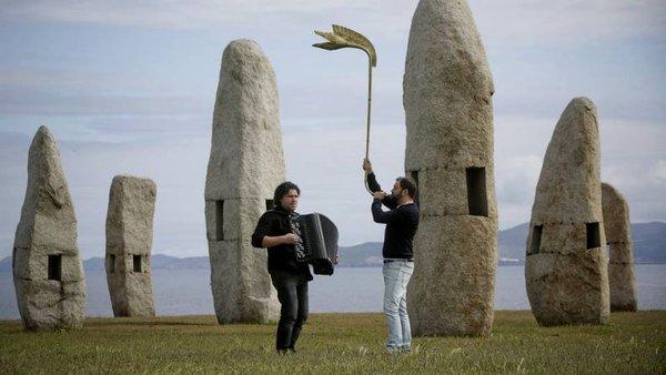 Foto feita no campo das ratas ná Coruña para unha reportaxe de la Voz