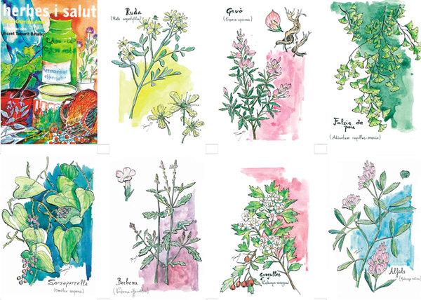 Donant suport a 'Herbes i salut' dones suport a tres llibres