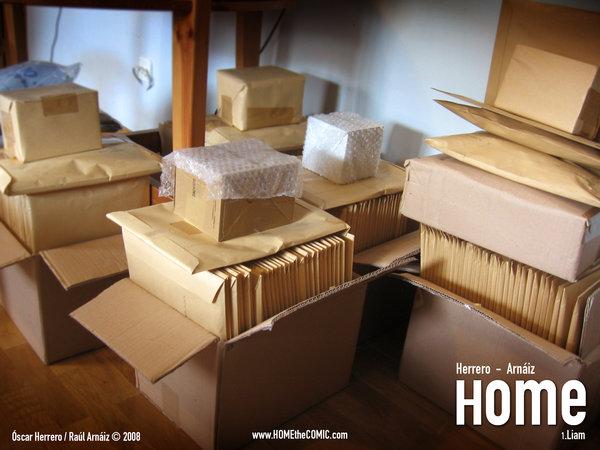 HOME Vol. 1 - Actualizando información... (4) ¡ENVIANDO HOME!