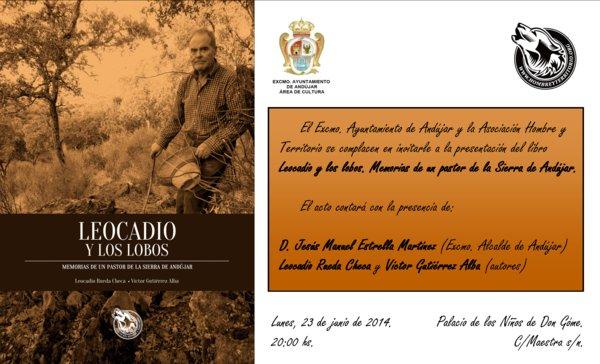 Presentación del libro en Andújar