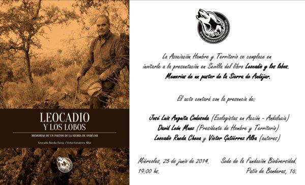 Presentación del libro en Sevilla