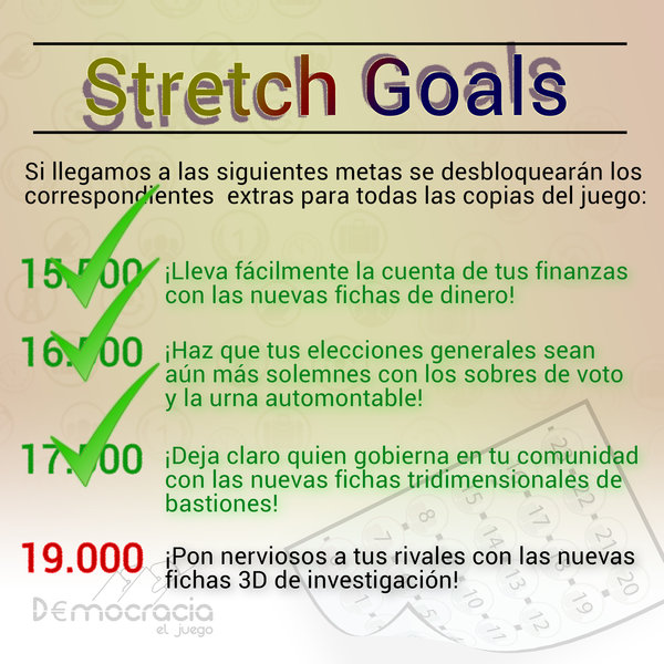 Nuevo Stretch Goal y Nuevo Reto
