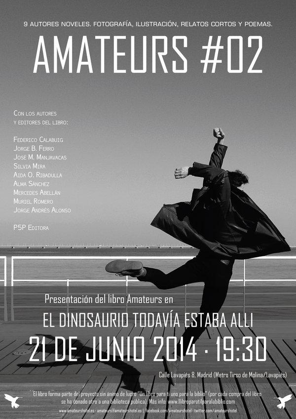 Presentación del libro en Madrid este sábado 21 de junio