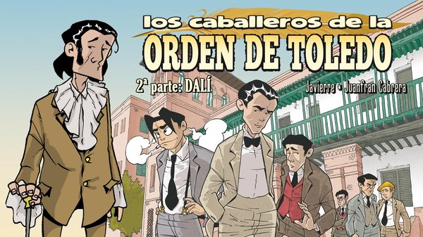 Ponemos en marcha el Crowfunding para el nº2 de los Caballeros de la Orden de Toledo